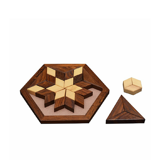 puzzles plate