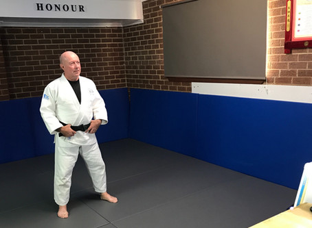 Virtual weekly judo classes have started