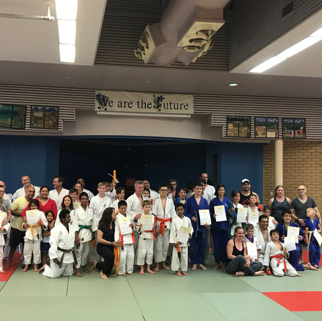 End of year 2018 Grading awards and selebration