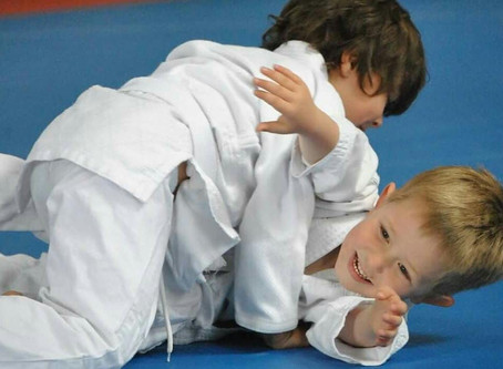 We are back - with Judo during School term 4