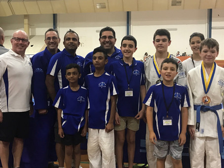 ACT International Judo Competition Results