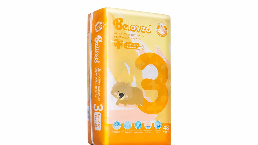Goat Milk Extract Series Nappies Beloved - Crawler