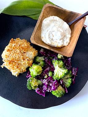 Panko-Crusted Gluten-Free Cod