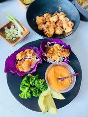 Air-Fried Shrimp with Yum Yum Sauce