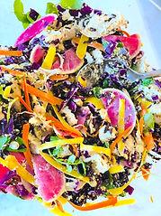 Creamy Chicken + Black Rice Salad