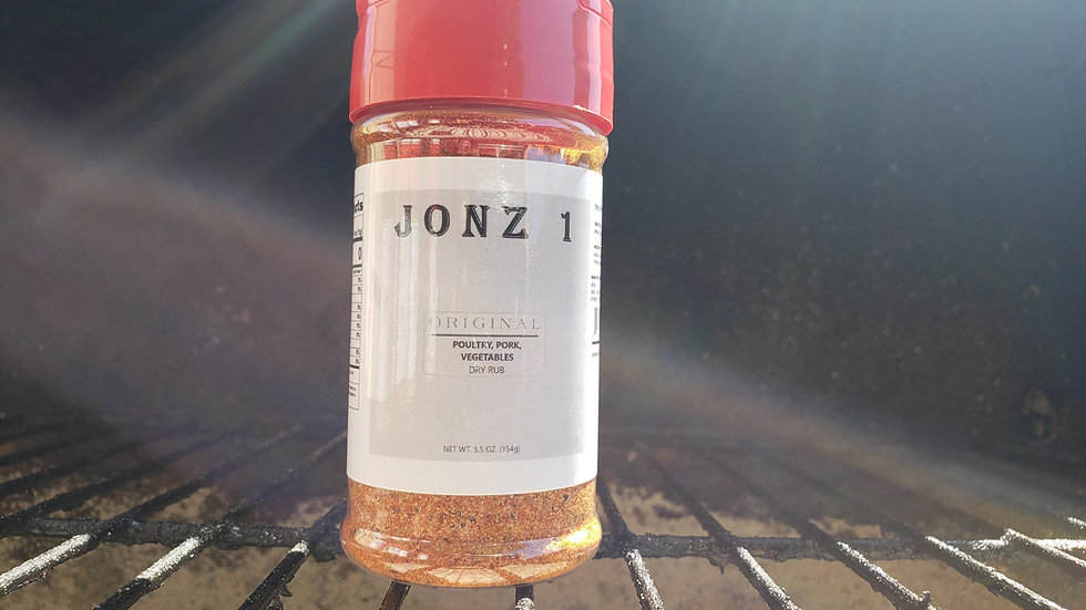 JONZ 1 Original Poultry, Pork, Vegetable Dry Rub