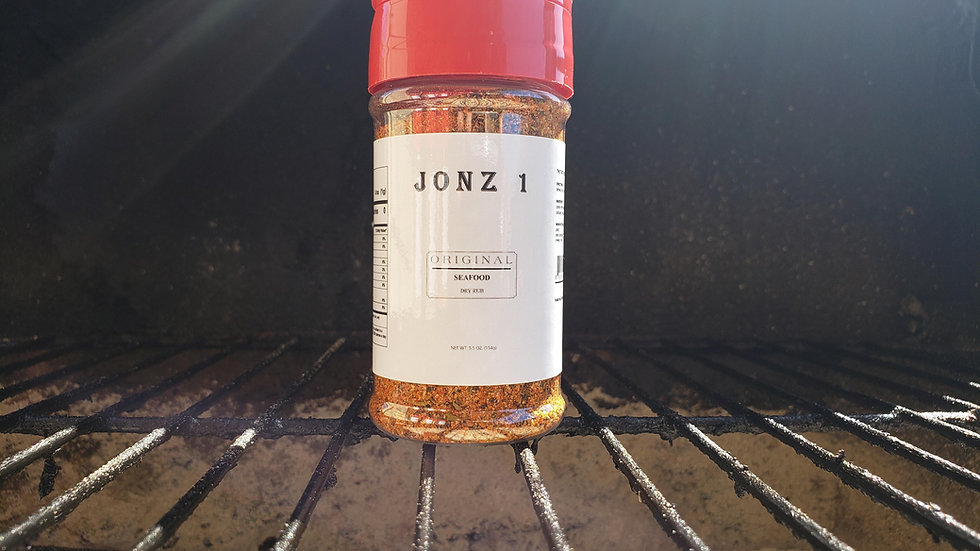 JONZ 1 Original Seafood Dry Rub