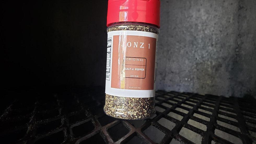 JONZ 1 Original SALT n' PEPPER Dry Rubs