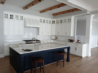 White Kitchen with Savannah Doors