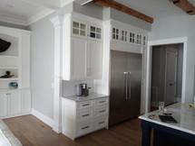 White Kitchen with Savannah Doors