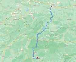 Krakow to Viglas Route
