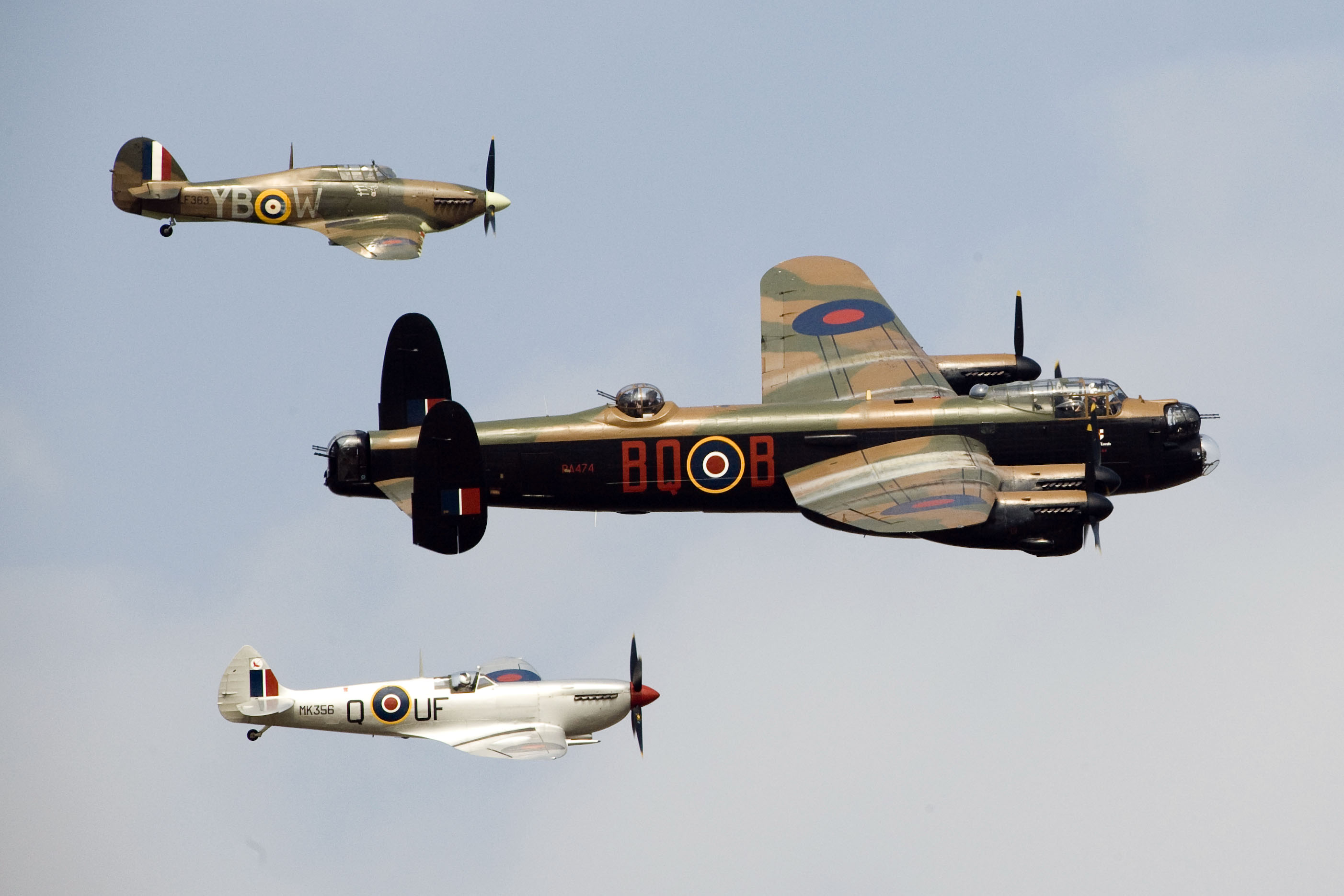 War Birds in the skies over the Revival