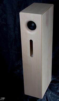 Aristoxène CLN6 Enceinte acoustique française large bande en bois massif