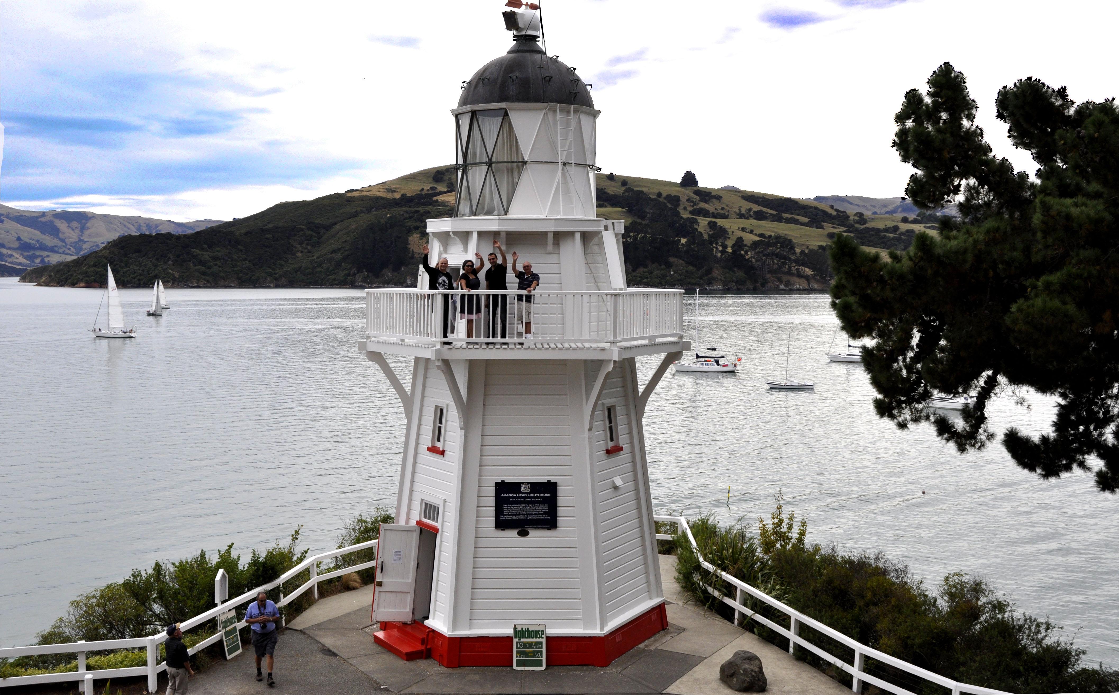 Akaroa Lighthouse 2013 Raquel Smith