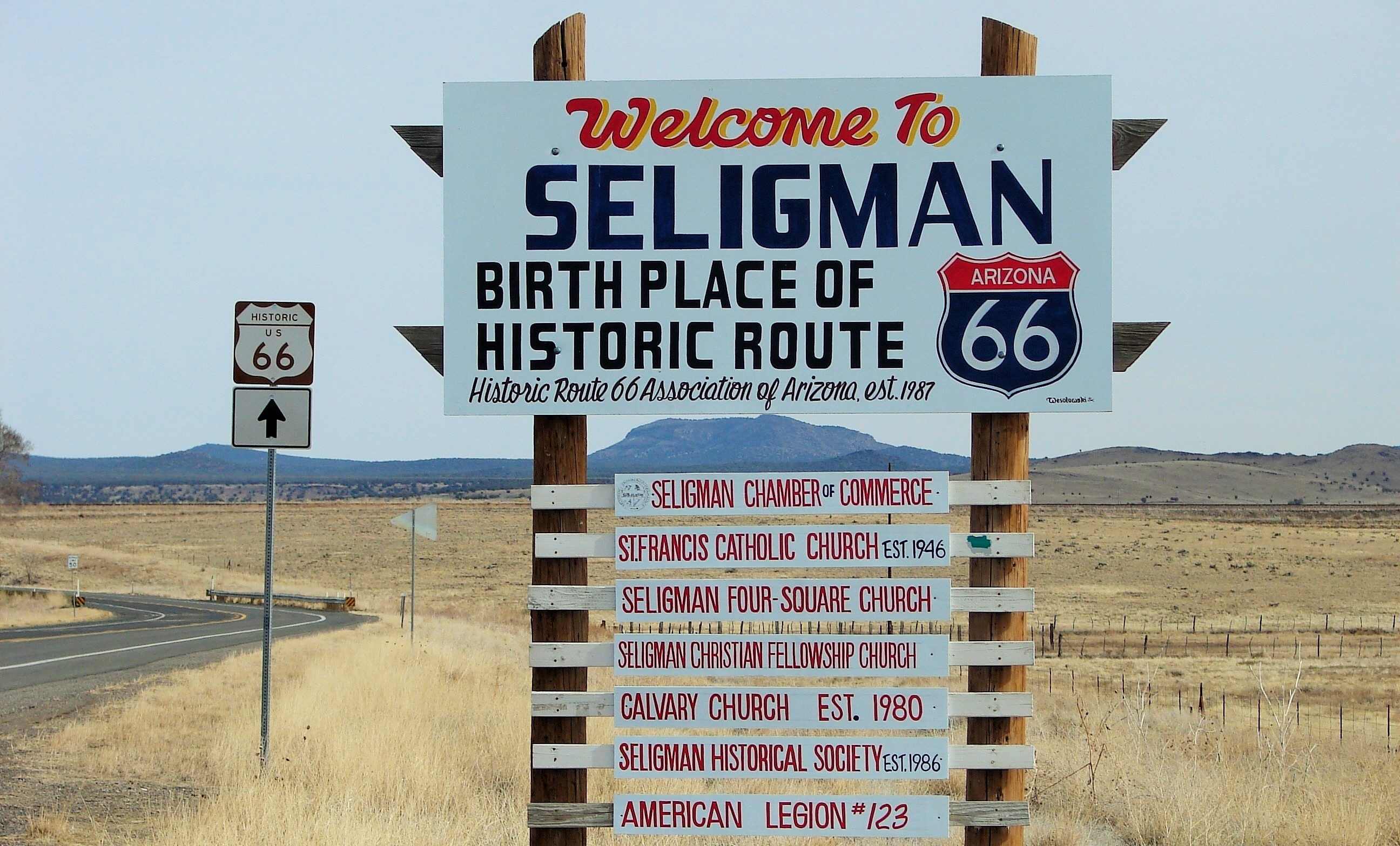 seligman-sign