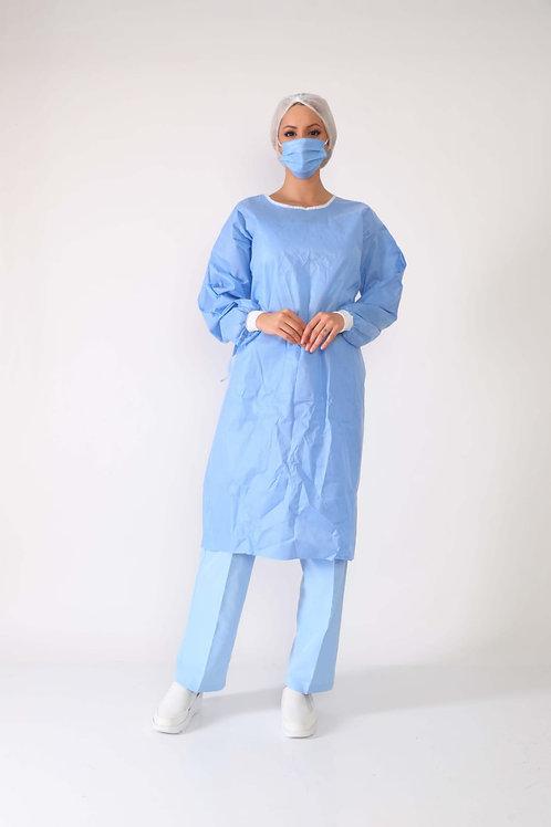 مريلة جراحية من نسيج SS من المستوى الأول