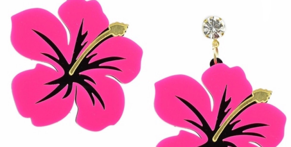 'Pink Passion' Earrings