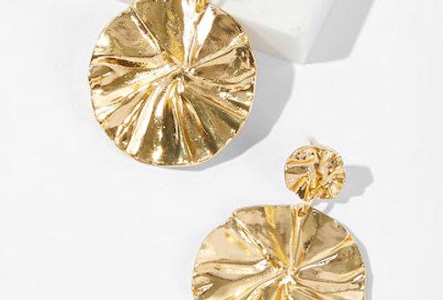 'Wheels of Gold' Earrings