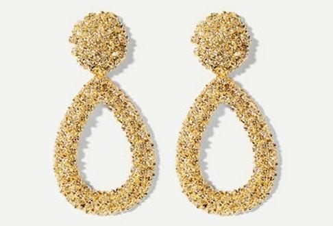 'Black Momba' Earrings