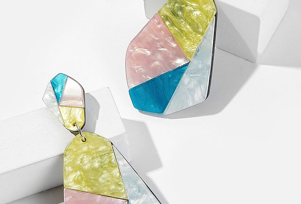 'Spring Creme' Earrings