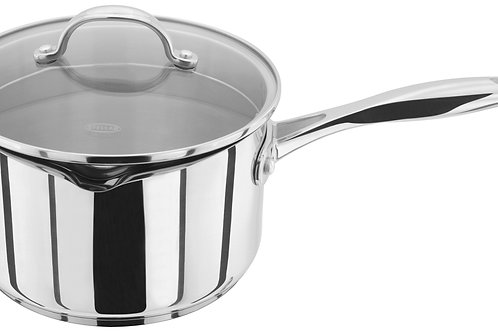 Stellar 7000 18cm Draining lid saucepan (non stick)