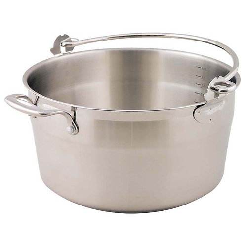 Supreme Stainless Steel Jam/Preserving Pan - 30cm/9.0L
