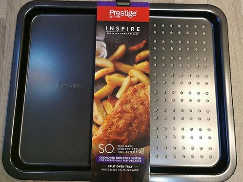 Prestige Inspire Non-Stick Split Oven Tray