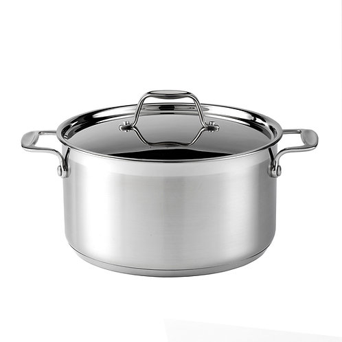 Supreme Stainless Steel Casserole - 24cm/5.0L