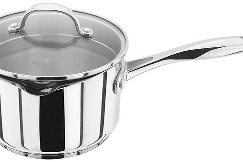 Stellar 7000 16cm Draining lid saucepan (non stick)