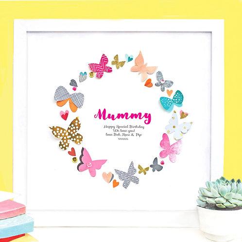 Personalised Paper Butterflies