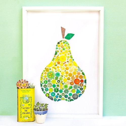 Pear Button Artwork