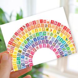 stamp postcard