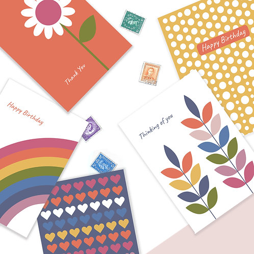 Mixed Greeting Card Pack (Pack of 10)