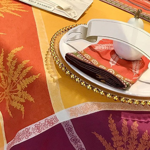 FRENCH JACQUARD TABLE LINENS