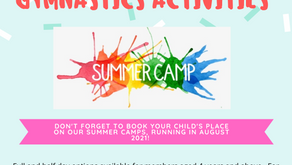 Book your child's place on our Summer Camp!