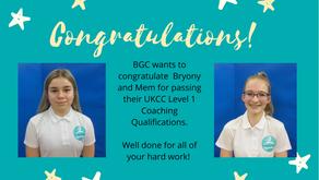 Congratulations to Bryony and Mem!!