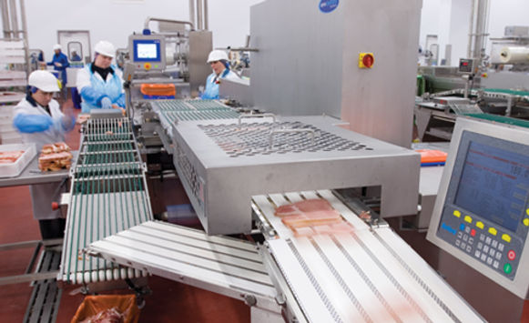 Bacon Manufacturing Line