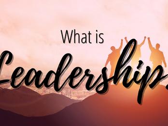 What is leadership?