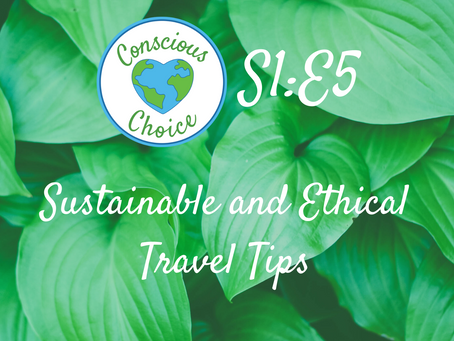 Sustainable and Ethical Travel Tips