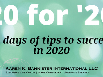 20 TIPS TO KICK OFF 2020