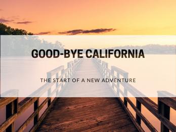 Good-bye California