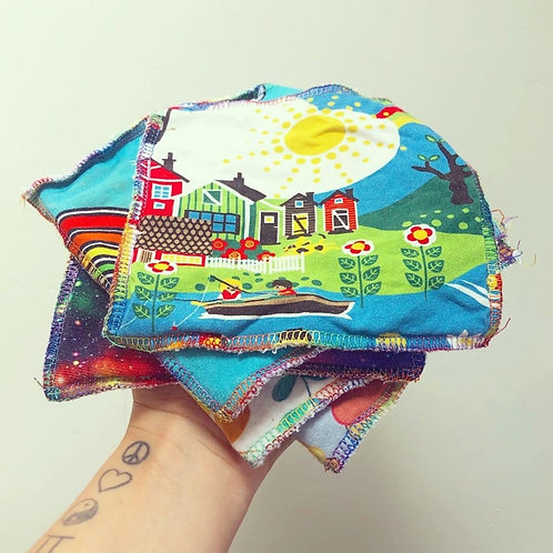 Eco Bamboo Reusable Wipes