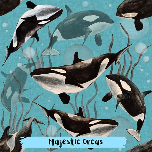 PRE ORDER Dec 20th-Majestic Orcas