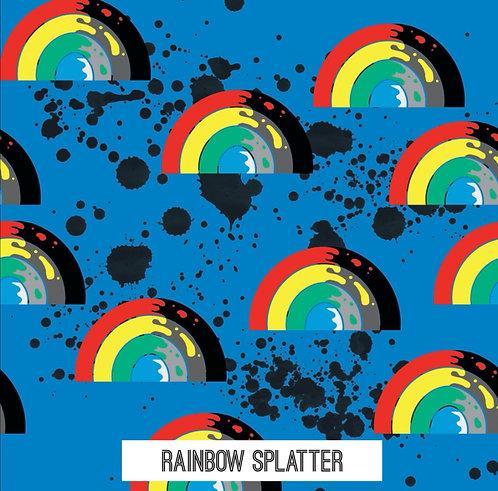 PRE ORDER Dec 20th- Rainbow Splatter