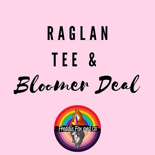 Raglan Tee & Bloomer Deal
