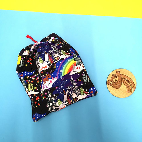 Handmade Drawstring Bag