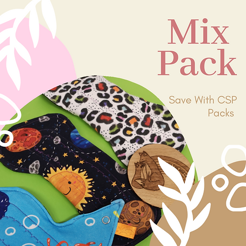 Mix Pack Cloth Sanitary Pads