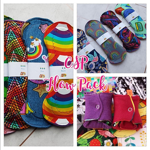 Flow Pack Cloth Sanitary Pads