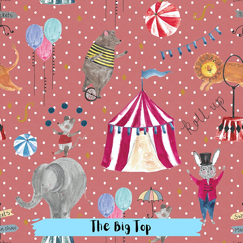 PRE ORDER Dec 20th-The Big Top