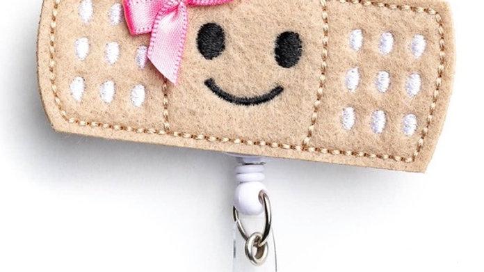 Cutie Band-aid Badge Reel Holder